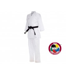 КИМОНО ДЛЯ КАРАТЕ KUMITE FIGHTER WKF БЕЛОЕ K220KF